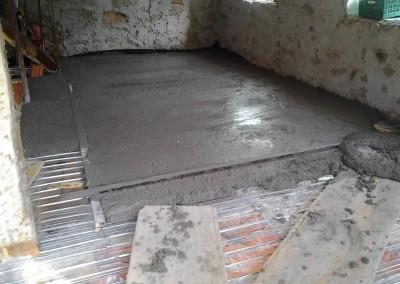 Egalizarea betonului pe suprafata